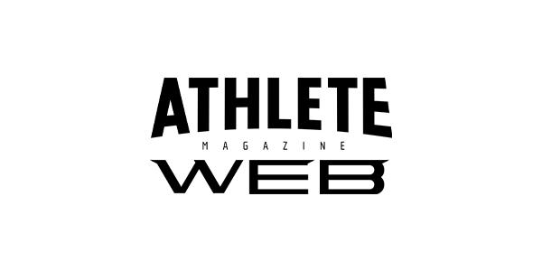 athleteマガジンのロゴ