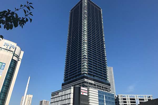 ビッグフロント広島タワービル外観