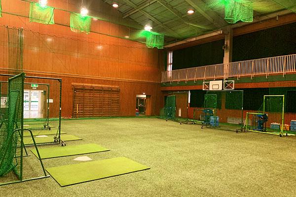 小山ベースボールビレッジ練習場風景