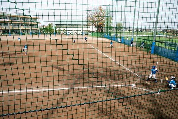エイジェック女子野球部練習風景