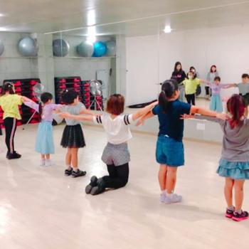ダンス練習中