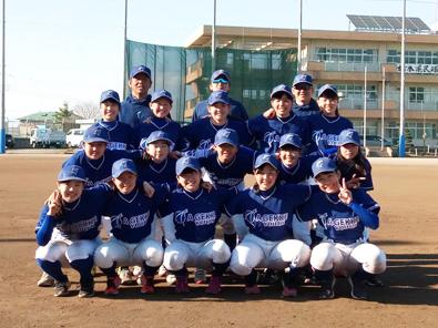 女子硬式野球部集合2